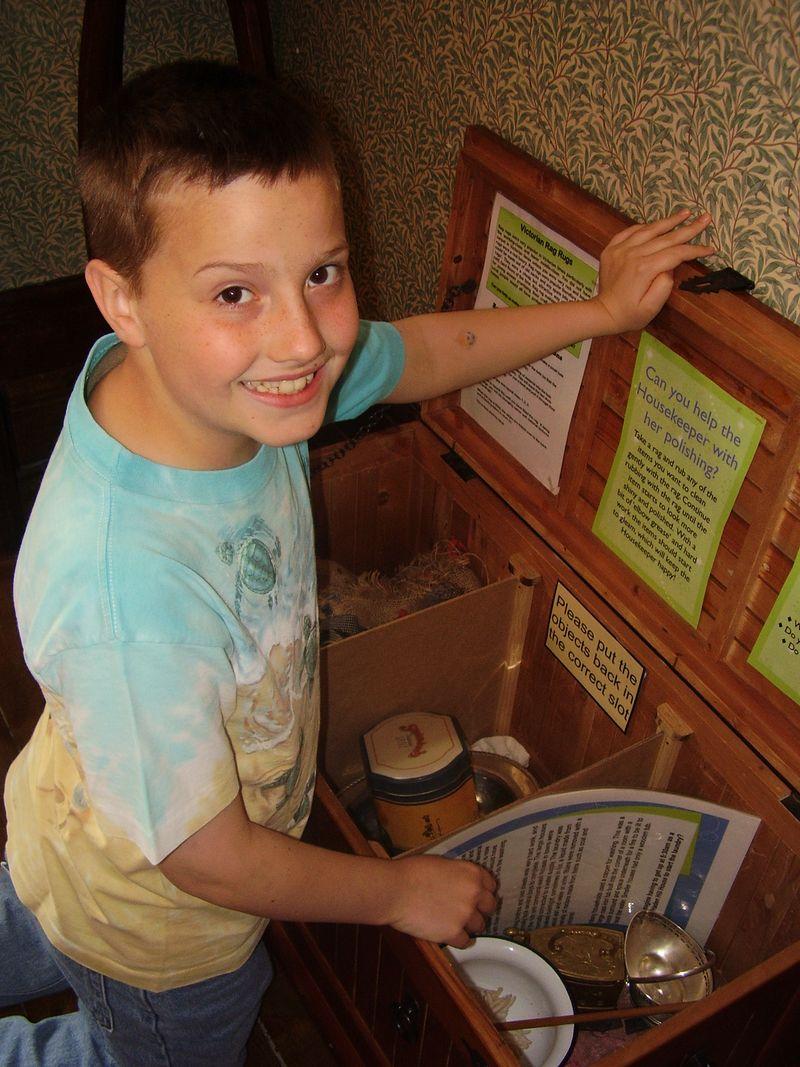 Hands on at Haden Hill House Museum