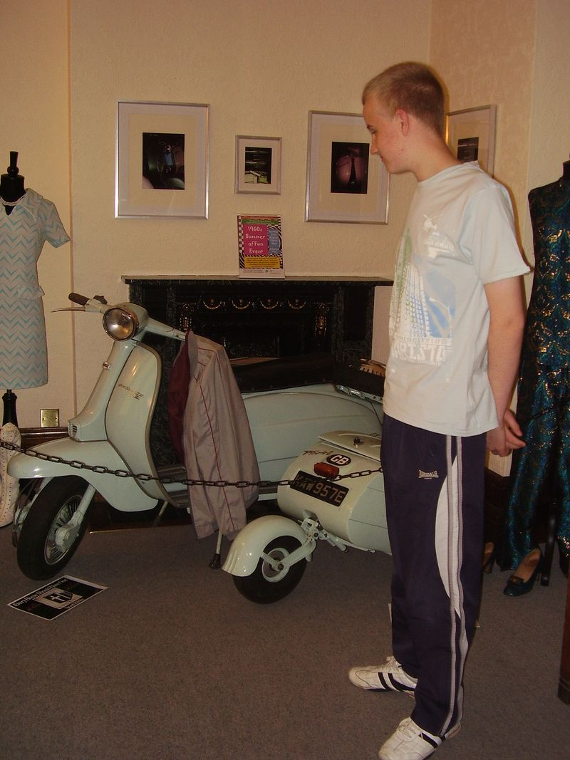 1960's exhibit at Haden Hill House Museum