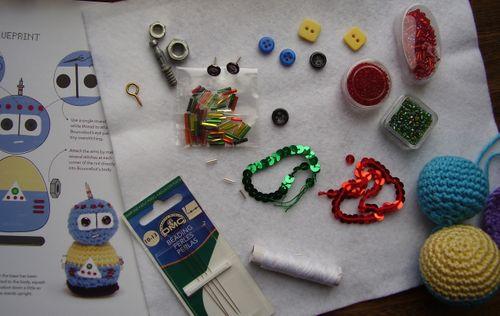 Crobot Bouncebot bits