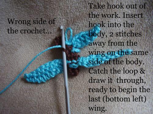 Crochet butterfly pic 5
