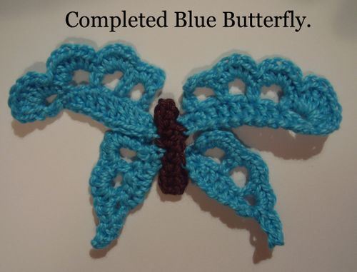 Crochet butterfly pic 9 final pic