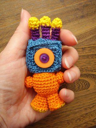 Amigurumi Monster tiny