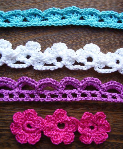 Crochet trims lace