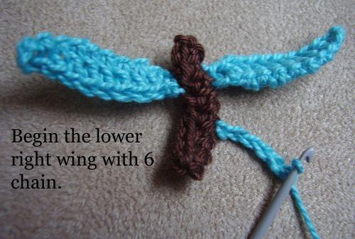 Crochet butterfly pic 4