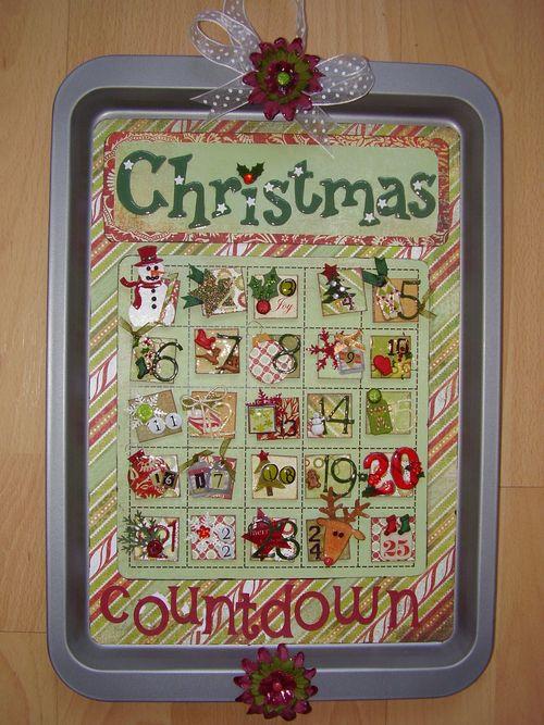 ADVENT calendar designer SUE