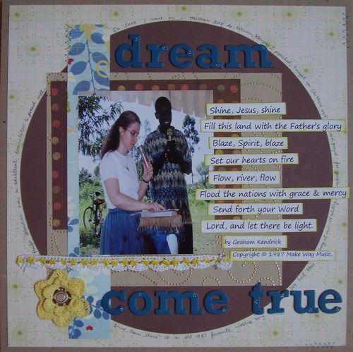 Dream come true prompt 4 (music)