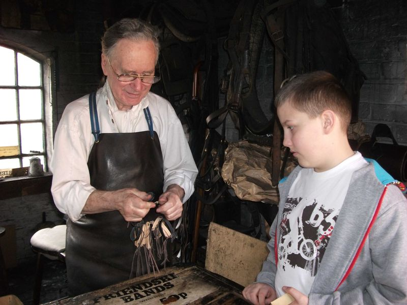 Blist Hill leather shop web