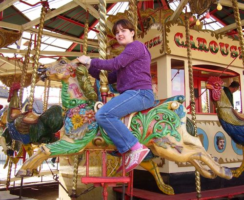Carousel ride web