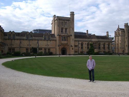 Mansfield College OXFORD web