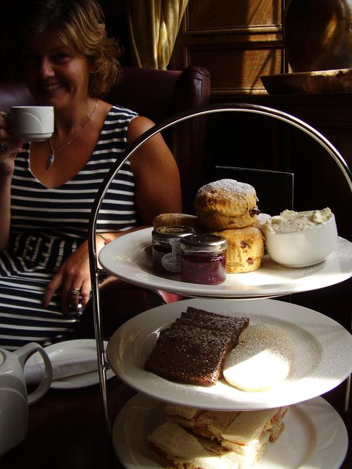 Afternoon tea arty pic
