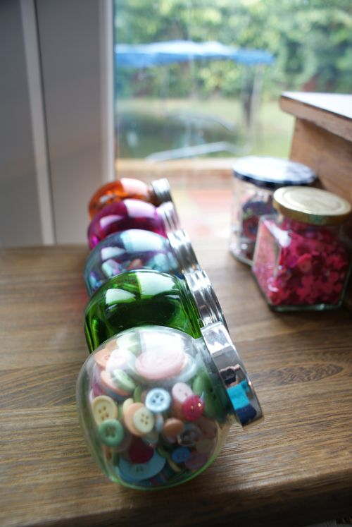 Jars depth of field