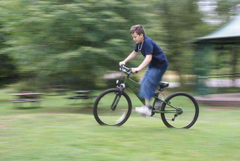 Speeding bike web