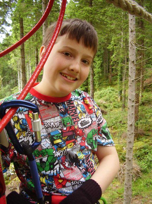 Goape birthday boy web