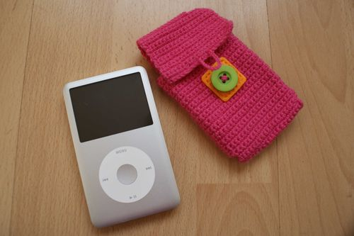 Crochet i pod case by i pod web