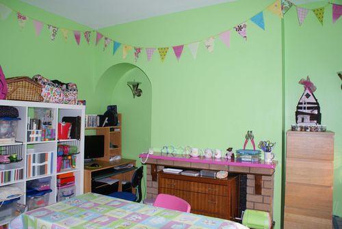 Craft room mantlepiece web