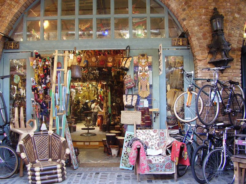 Camden Market shop web