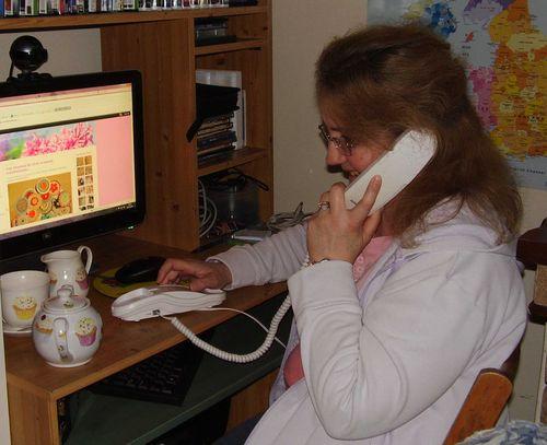 Birthday phone call web