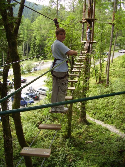 Goape ladder boy web