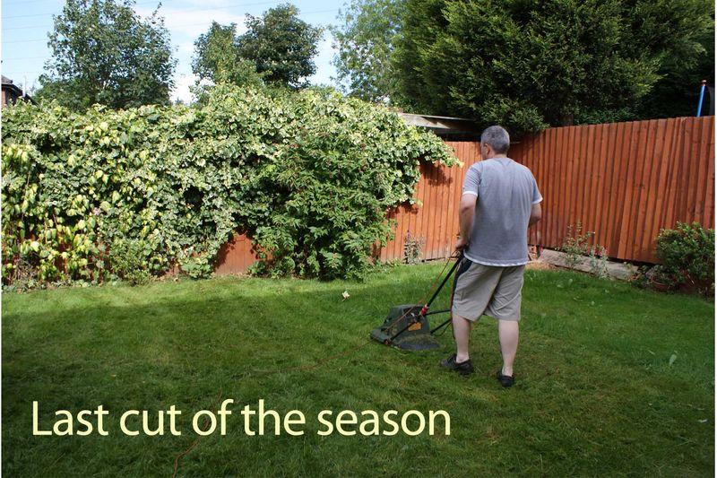 Last cut of the season