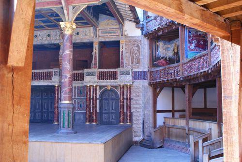 Shakespeares Globe inside web
