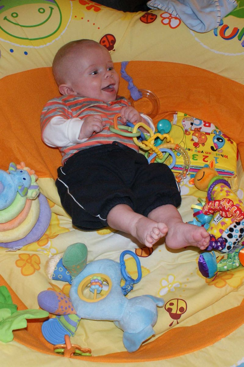 Happy baby cousin web