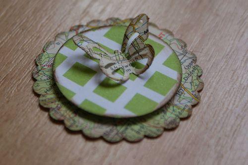 Map embellie green butterfly web
