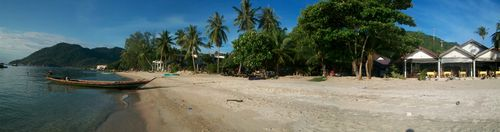 Ben Thailand near the diving panoramic