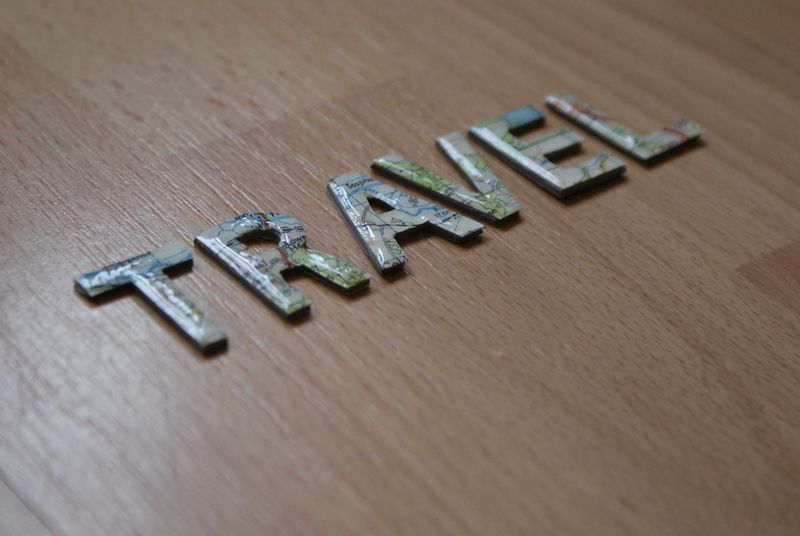 Day 3 TRAVEL map letters web