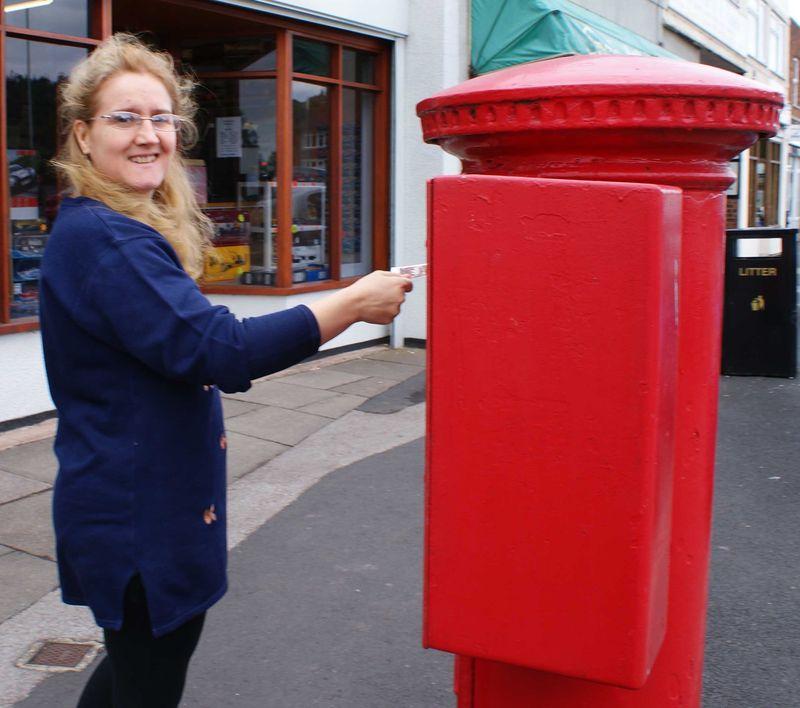 Shimelle day 2 posting postcard 2 web