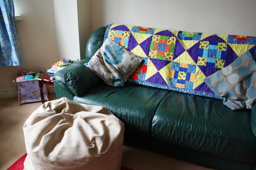 Day 6 sit to crochet and watch TV web