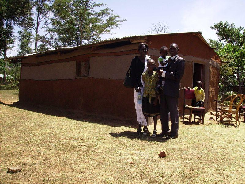 20 Geoffreys family at their church Chebukwa web