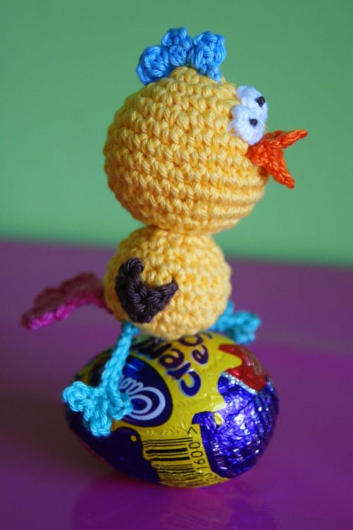 Amigurumi Crazy Chick profile web