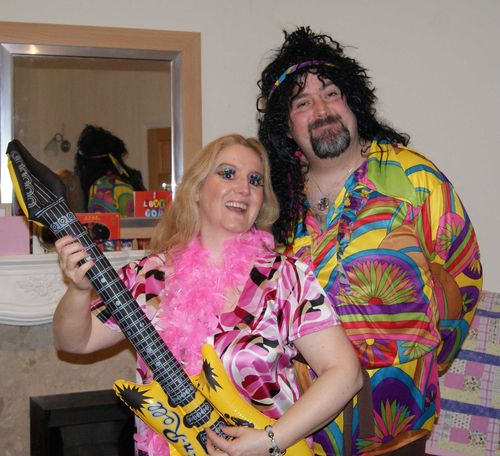 Adam and mandy with guitar glam web