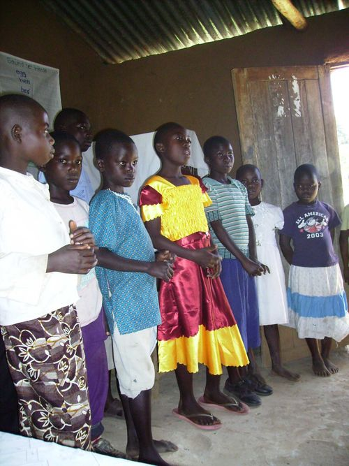 Makutano church children recite bible scriptures