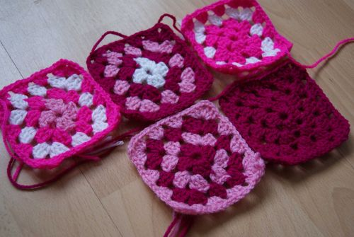 Park your Yarn Granny Squares 1