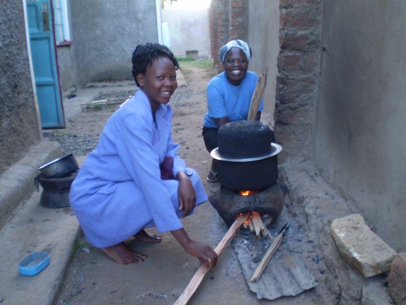 Home cooking at Webuye  web