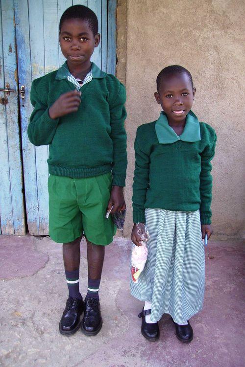 Samuel sponsored in uniform with sister web