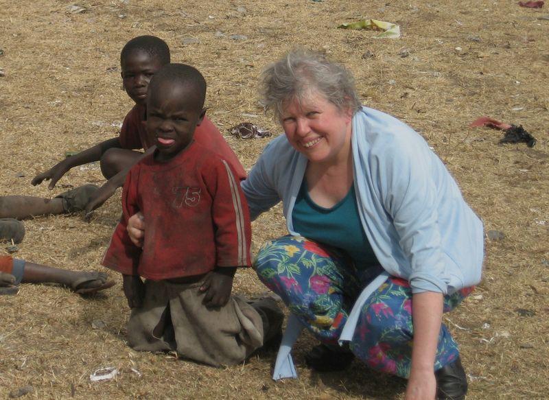 Bernadette at Nakuru
