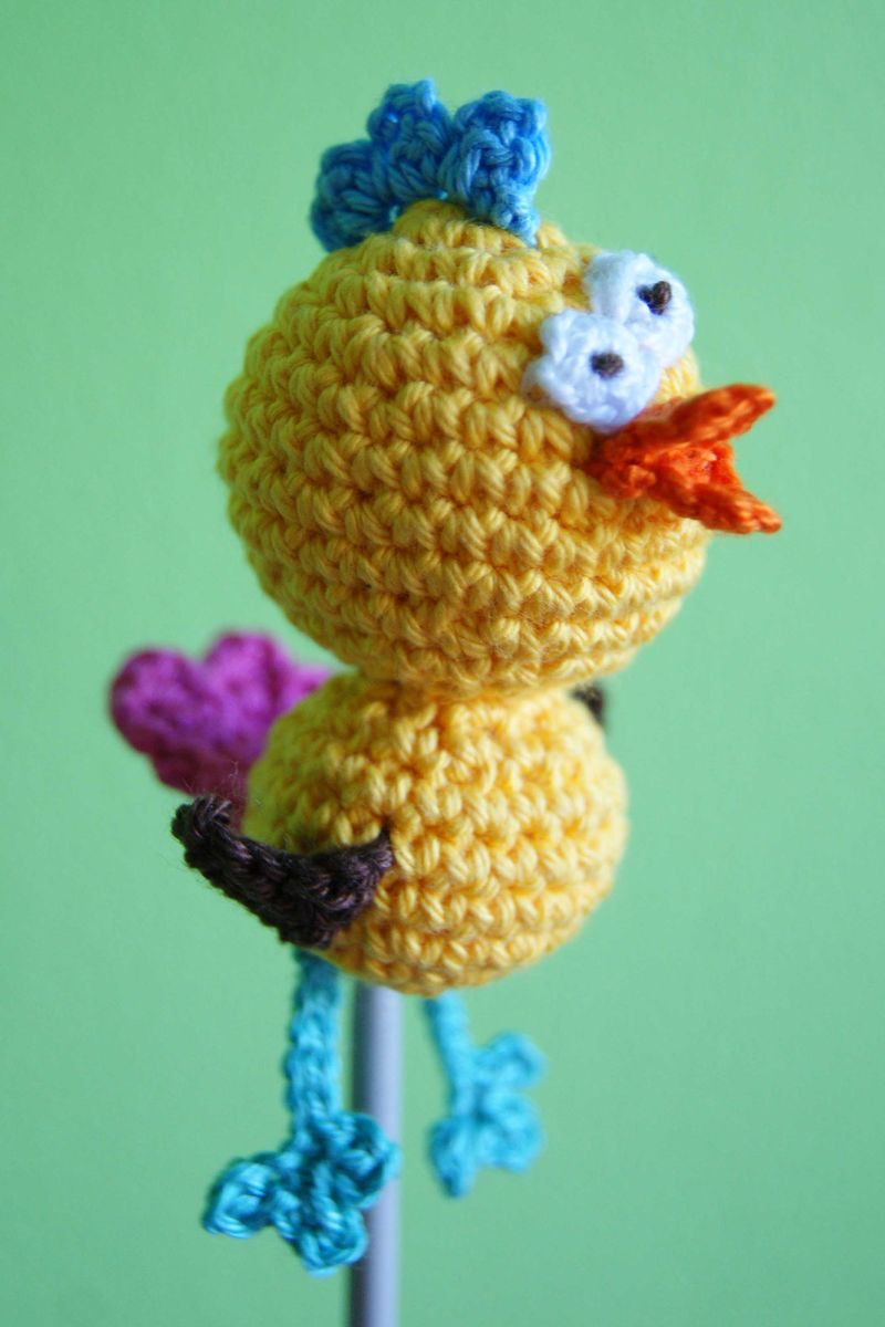 Amigurumi Crazy Chick 1 web