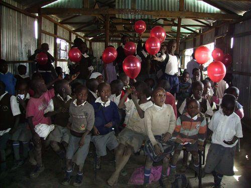13 Alexs school Nakuru balloons