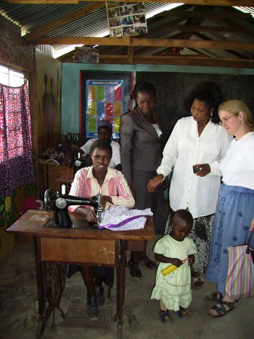 14 Alexs school Nakuru sewing training