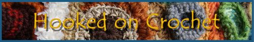 Web banner Hooked on crochet