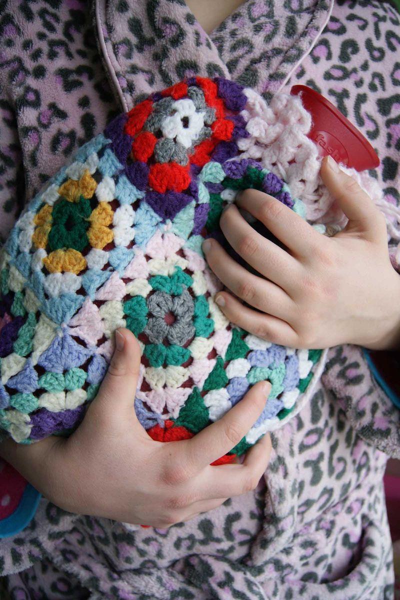 Crochet hotwaterbottle cover web