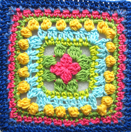 Planet Penny Beautiful Blogger Blanket Square (c)