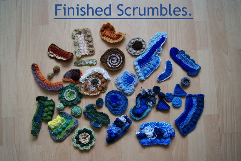 Finished Scrumbles web