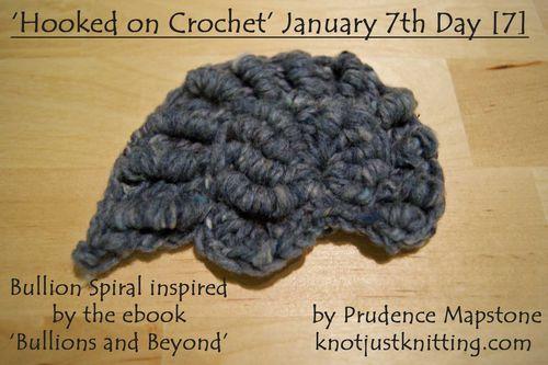 Bullion spiral crochet Hooked on Crochet Day 7 web
