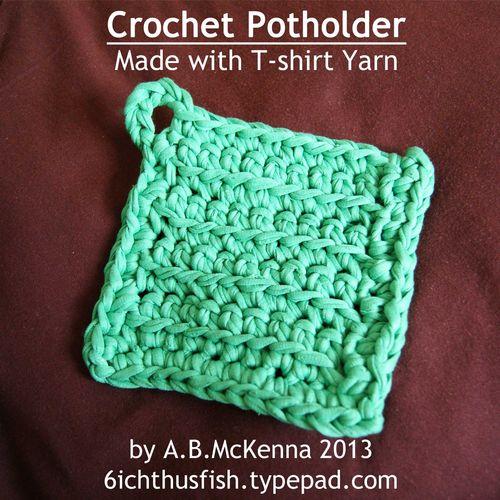 Crochet Potholder web
