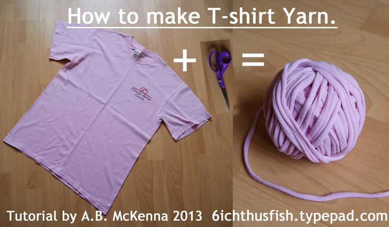 T-shirt Yarn Tutorial web